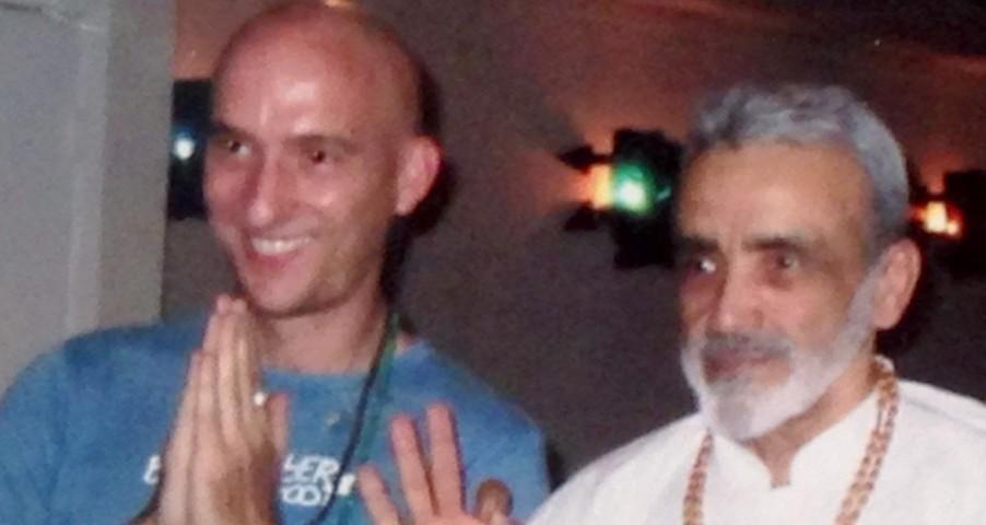 Sri Dharma Mittra and Fred
