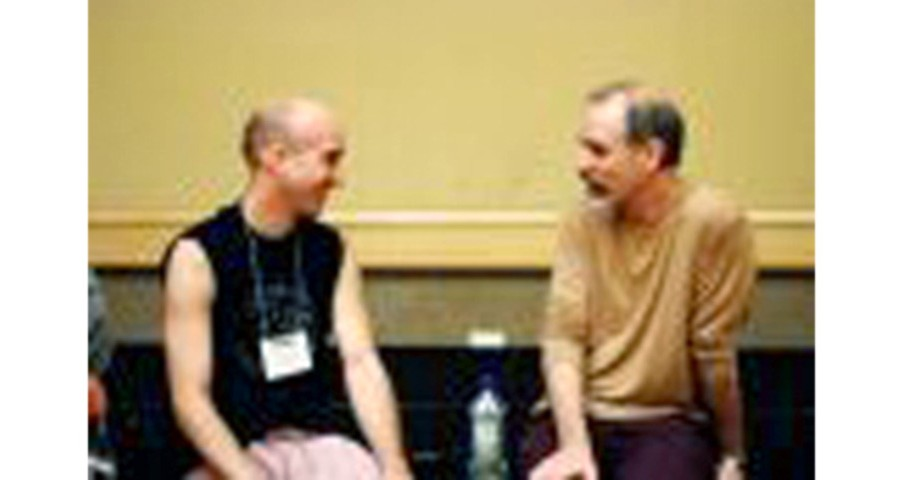 Fred with Gary Krafsow