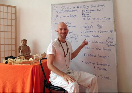 Fred Busch lectures on deeper aspects of Yoga and Tantra at his Hot Power Yoga Teacher Training!