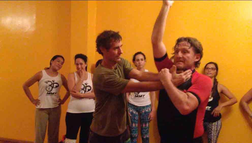 Mixed Martial Yoga - Self Defense Skills Component