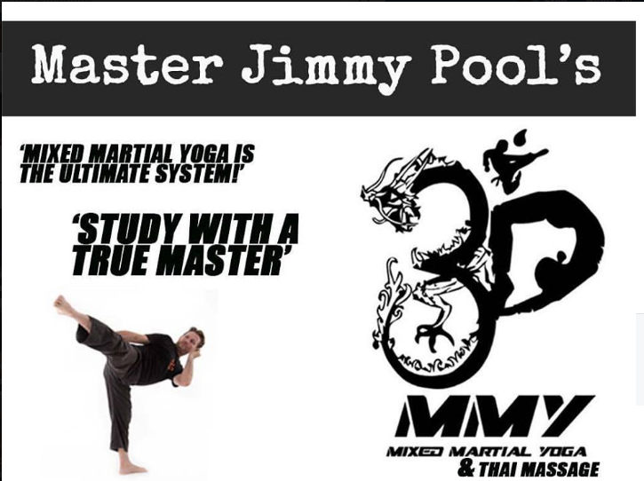 Mixed Martial Yoga with Master Jimmy Pool is the best system for Yogi's who love Martial Arts and for Martial Artists who love Yoga!