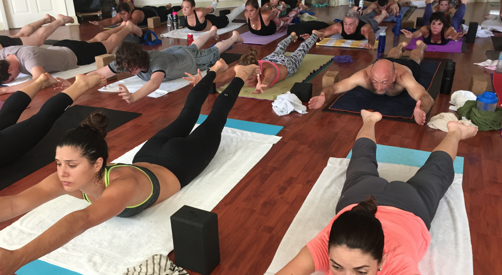 Complete Power yoga class