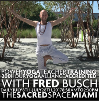Fred Busch at Sacred Space Miami