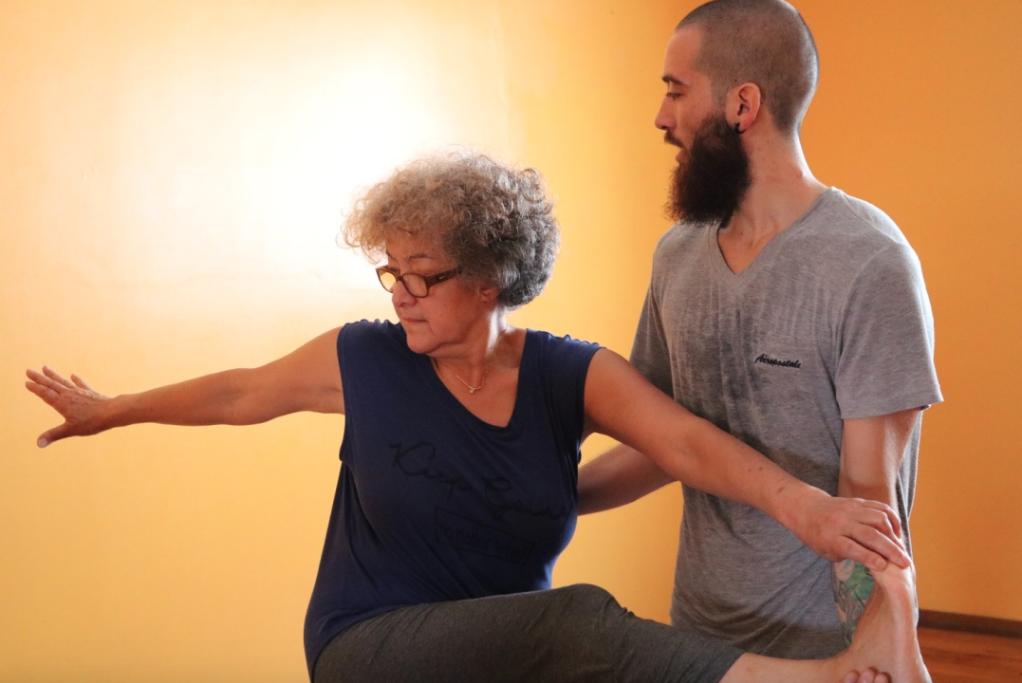 advanced adjustments teaching yoga